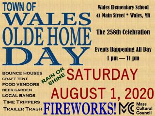 Wales Olde Home Day